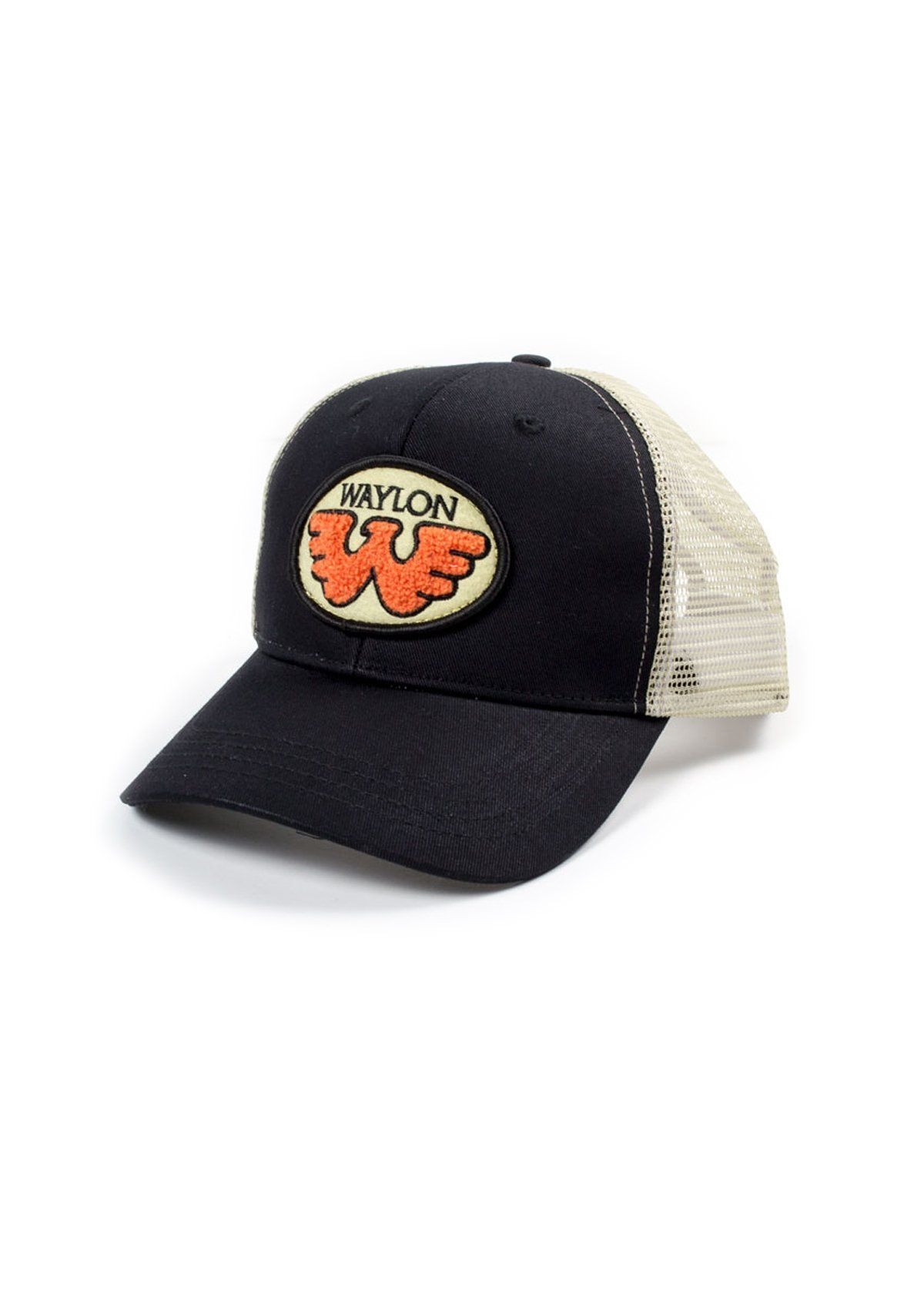 8a2e7238775 Flying W Patched Waylon Jennings Trucker Hat