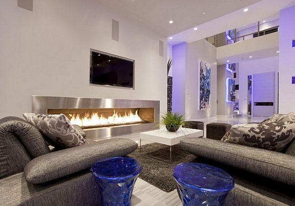 Great 19 Fireplace Design Ideas For A Warm Home During Winter Part 17