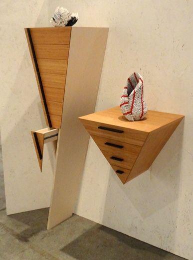 Hanging cupboard by IT'S LATTA - Femia Kievits en Paul Latta