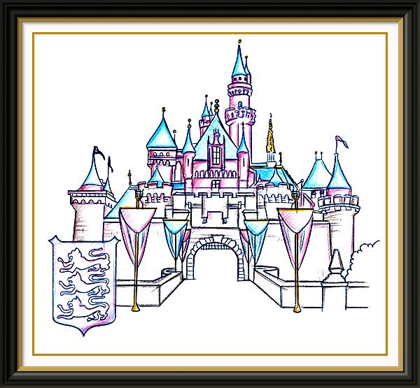 Disney Castle Drawing Sleeping Beauty Castle Disneyland Disney Sleeping Beauty