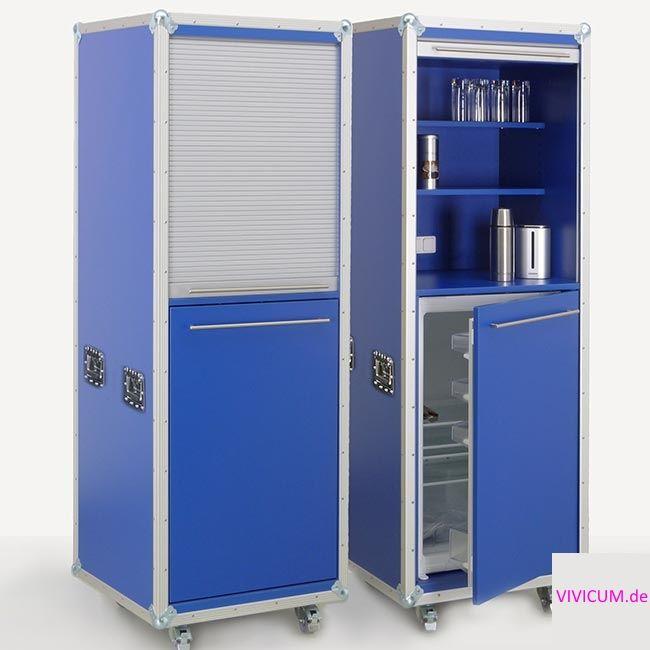 Kitchencase Beistellschrank Light Version   Eingebauter Kühlschrank ...