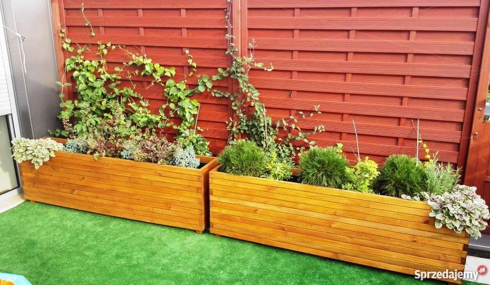 Drewniane Donice Ogrodowe Wroclaw Sprzedajemy Pl Plants Outdoor Structures Garden