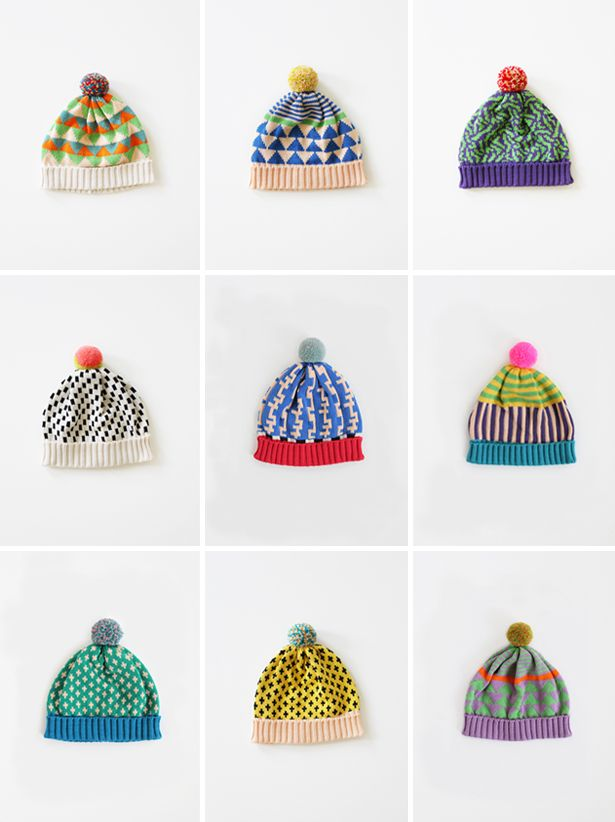 annie larson hats. These are hats you buy so sadly no pattern - but ...