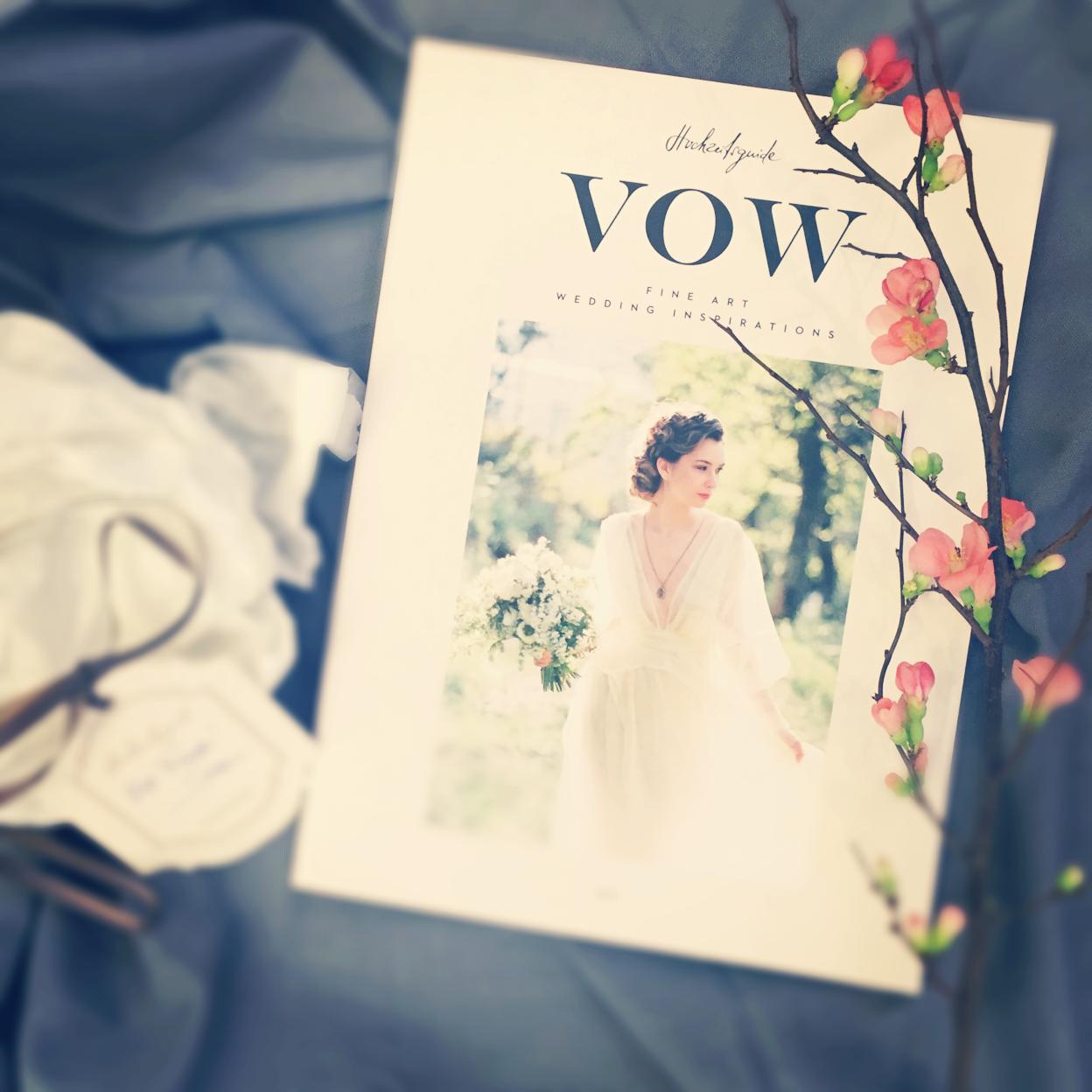 Hochzeitsguide VOW-Magazin Fine Art Wedding Inspirations