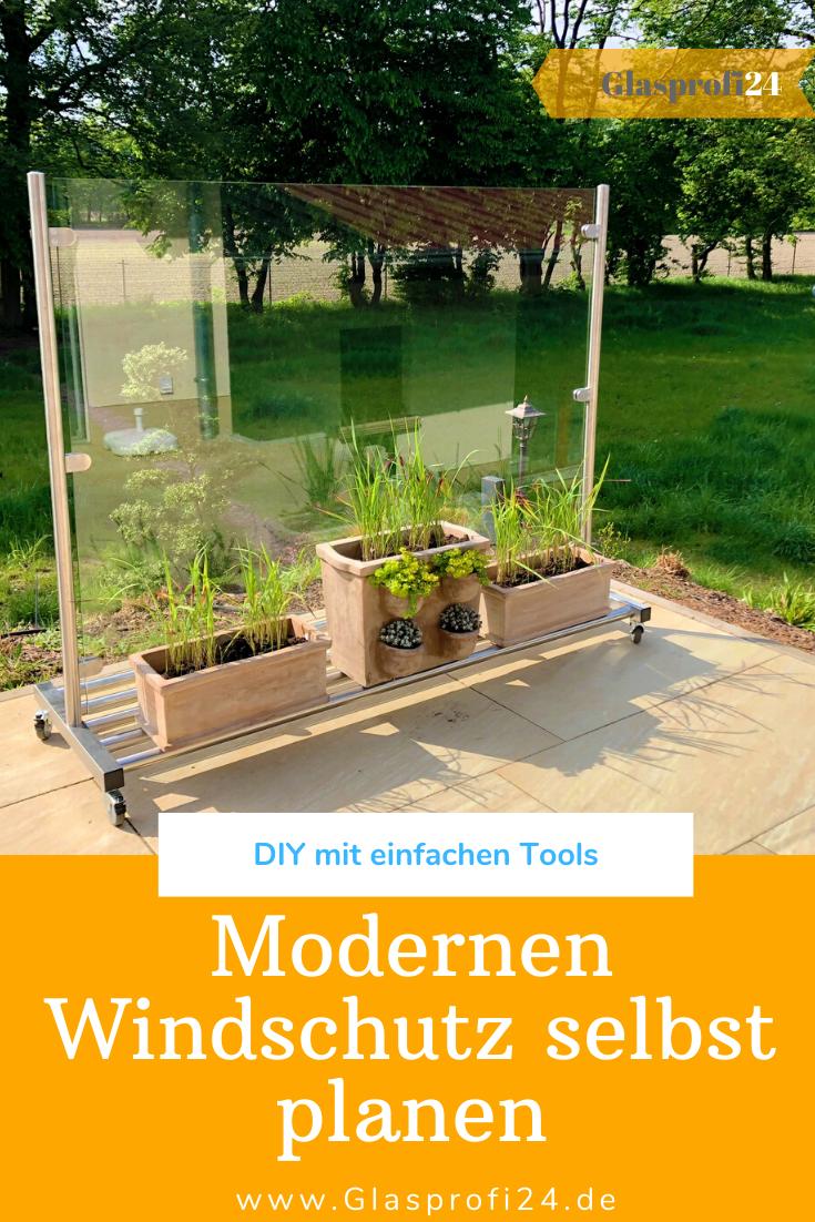 Moderner Windschutz Windschutz Gartengestaltung Garten Design