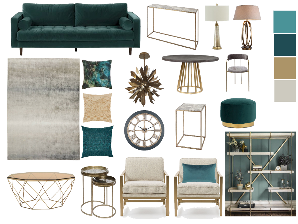 Get The Glam Look Living Room With Gold Jade And Teal Teal Living Room Decor Modern Living Room Teal Gold Living Room Decor #teal #and #gold #living #room #ideas