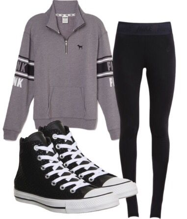 Perfect outfit for a lazy day or school! | fall outfits ...