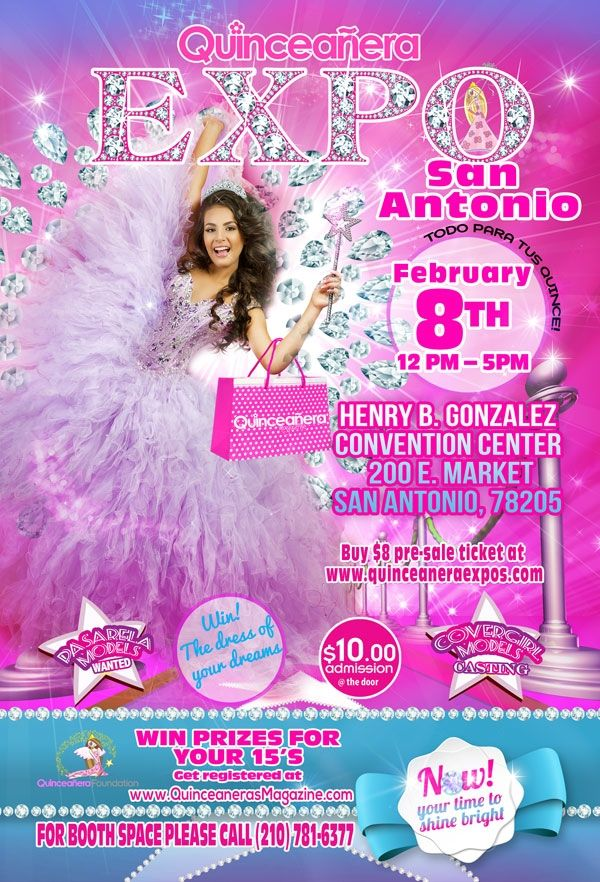 San Antonio Quinceaneras & Prom Expo February 8th , 2015 At Henry B ...