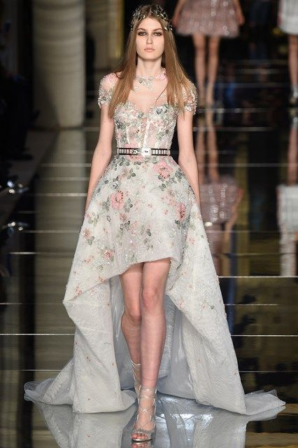 Catwalk photos and all the looks from Zuhair Murad Spring/Summer 2016 Couture Paris Fashion Week