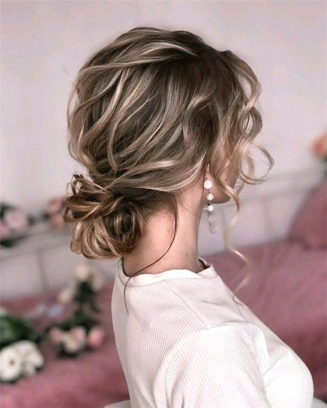 Elegant Wedding Hairstyle Idea: This List Contains Various