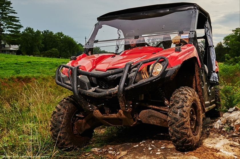 New 2016 Yamaha Viking EPS ATVs For Sale in California.  REAL WORLD TOUGH, ALL-WORLD SMOOTH <P>The quieter, smother-riding Viking features true three-person seating with class-leading off-road capability. </P><BR><BR><br>Dimensions:<br>- Wheelbase: 84.1 in.