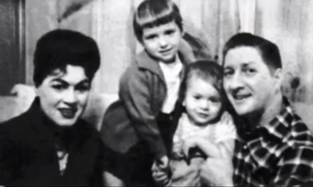 Patsy Cline And Charlie Dick With Their Children Julie And Randy
