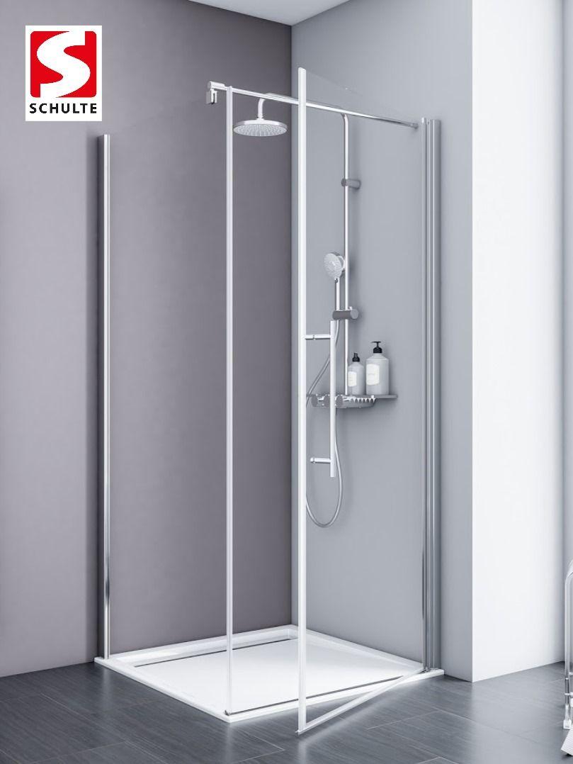 Die Serie Alexa Style 2 0 Zeichnet Sich Durch Eine Teilrahmung Von 5 Mm Starken Einscheibensicherheitsglasern Aus Der In 2020 Mit Bildern Duschkabine Dusche Schulte Duschkabinen