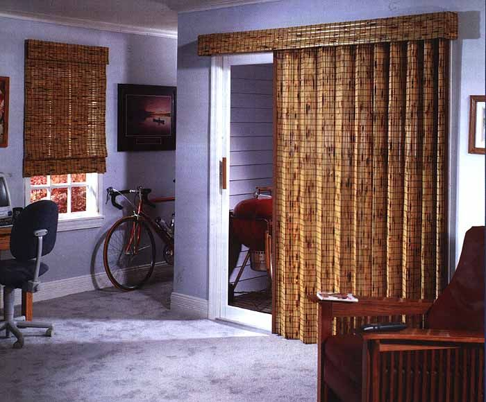 Bali Natural Shade Style Framework Drapery Standard Fold Bali