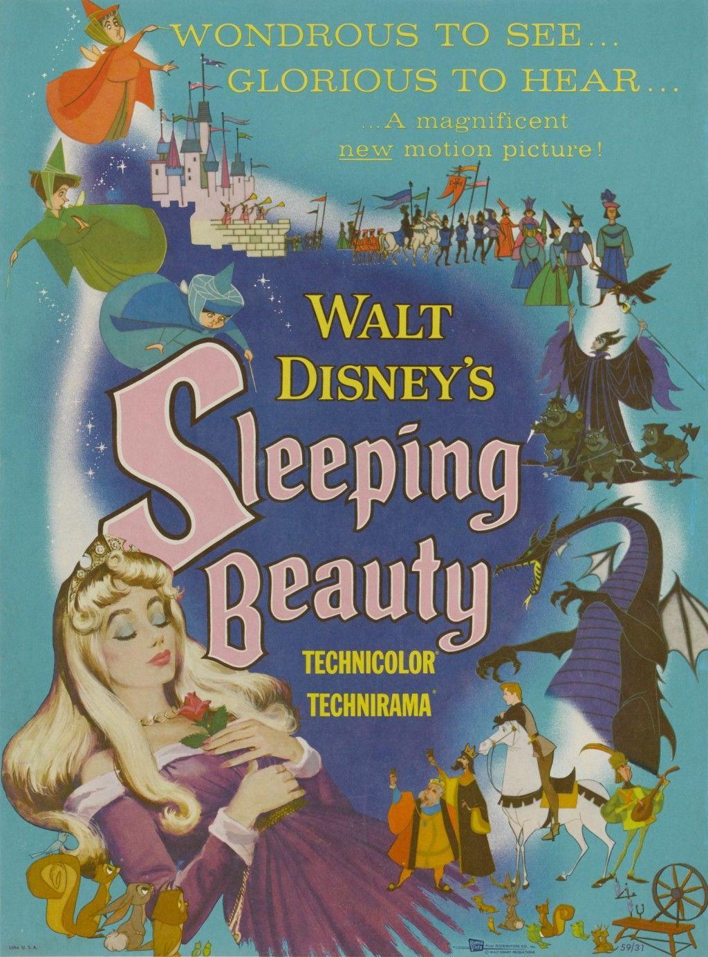 Original Film Posters Online Place Bid Sleeping Beauty 1959