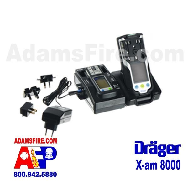 Draeger Drager X-am 8000 7 gas sensors Multi Gas Detector Toxic PID
