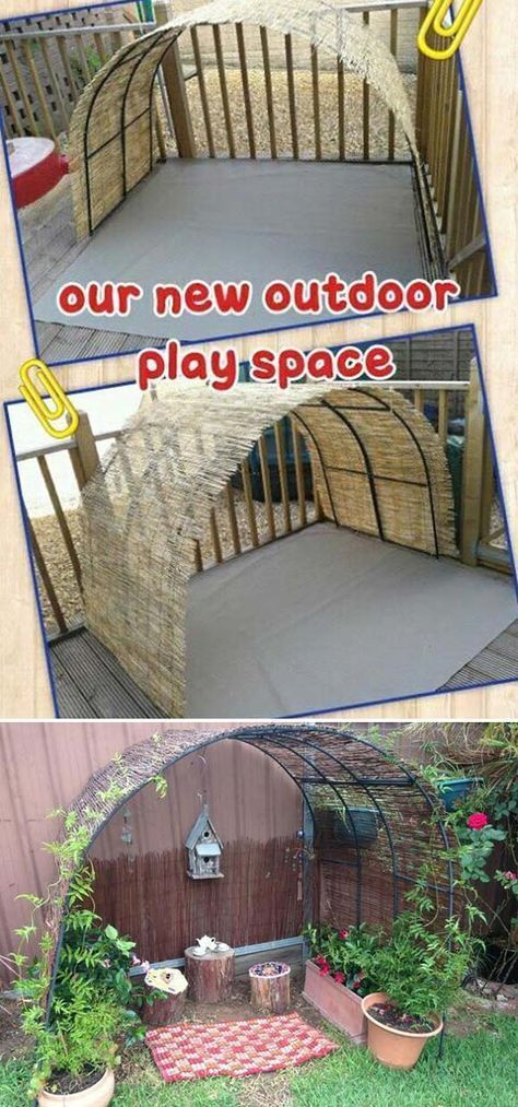 Photo of 15 Cool and Budget-Friendly Projects for a Kid's Play Area