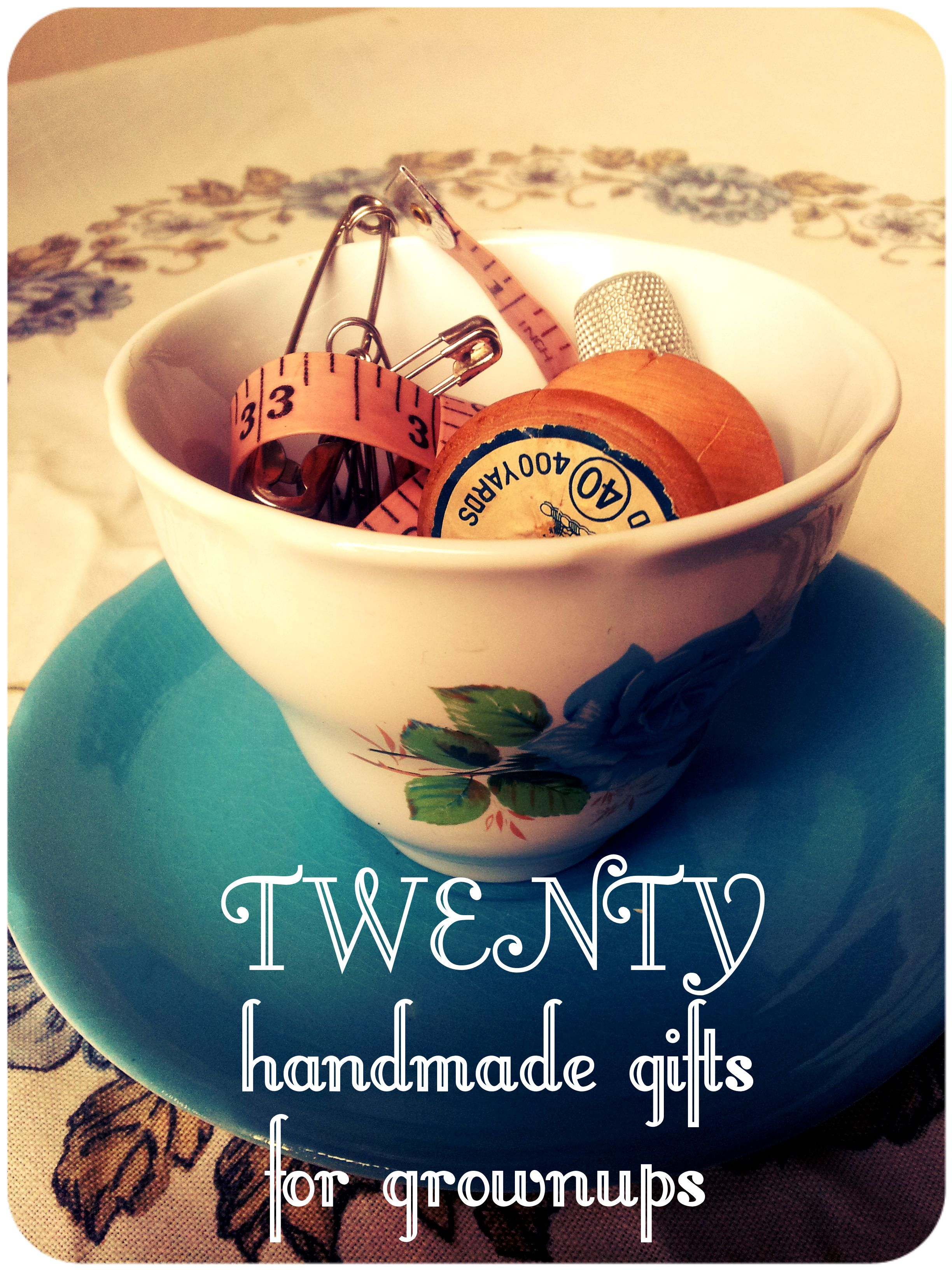20 handmade gifts for grown ups lulastic and the