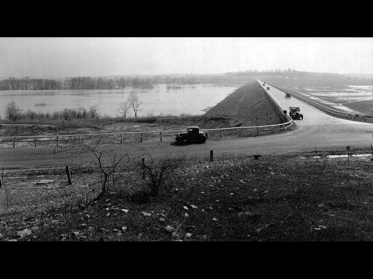 Then Huffman Dam Dayton Ohio Ohio Miami