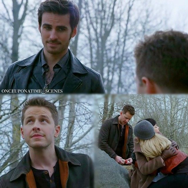 """Hook and David - 4 * 20 """"Mother""""-->I'm glad I wasn't the only one to catch that! Captain Charming BROMANCE OTP for the win!"""