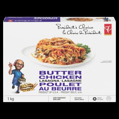 President S Choice Butter Chicken Lasagna Superstore Butter