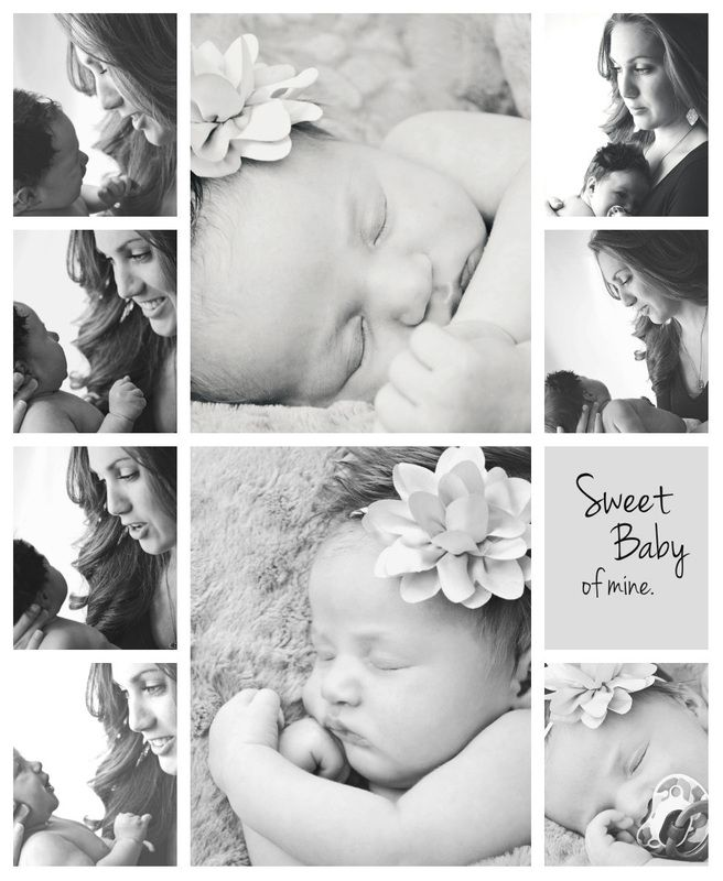 BABY  Photography by Jamie Taylor Newborn and Mom Storyboard - photography storyboard