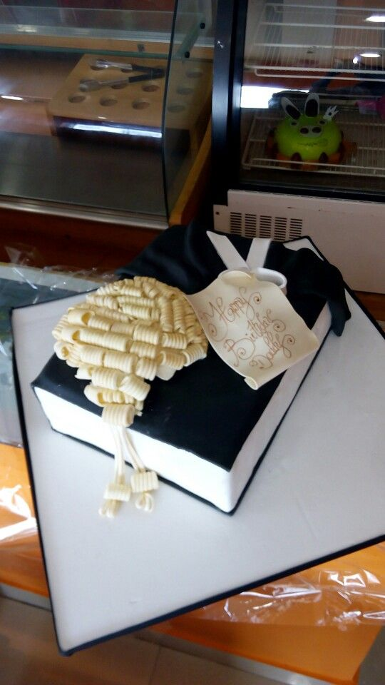 Cute Birthday Cake For A Lawyer