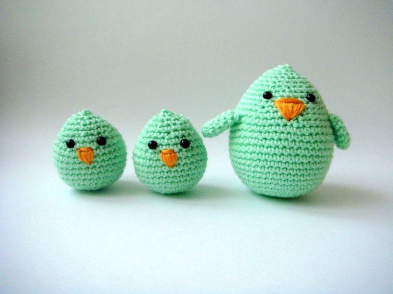 Crochet Easter Chicks Holidays Easter Pinterest Pasen