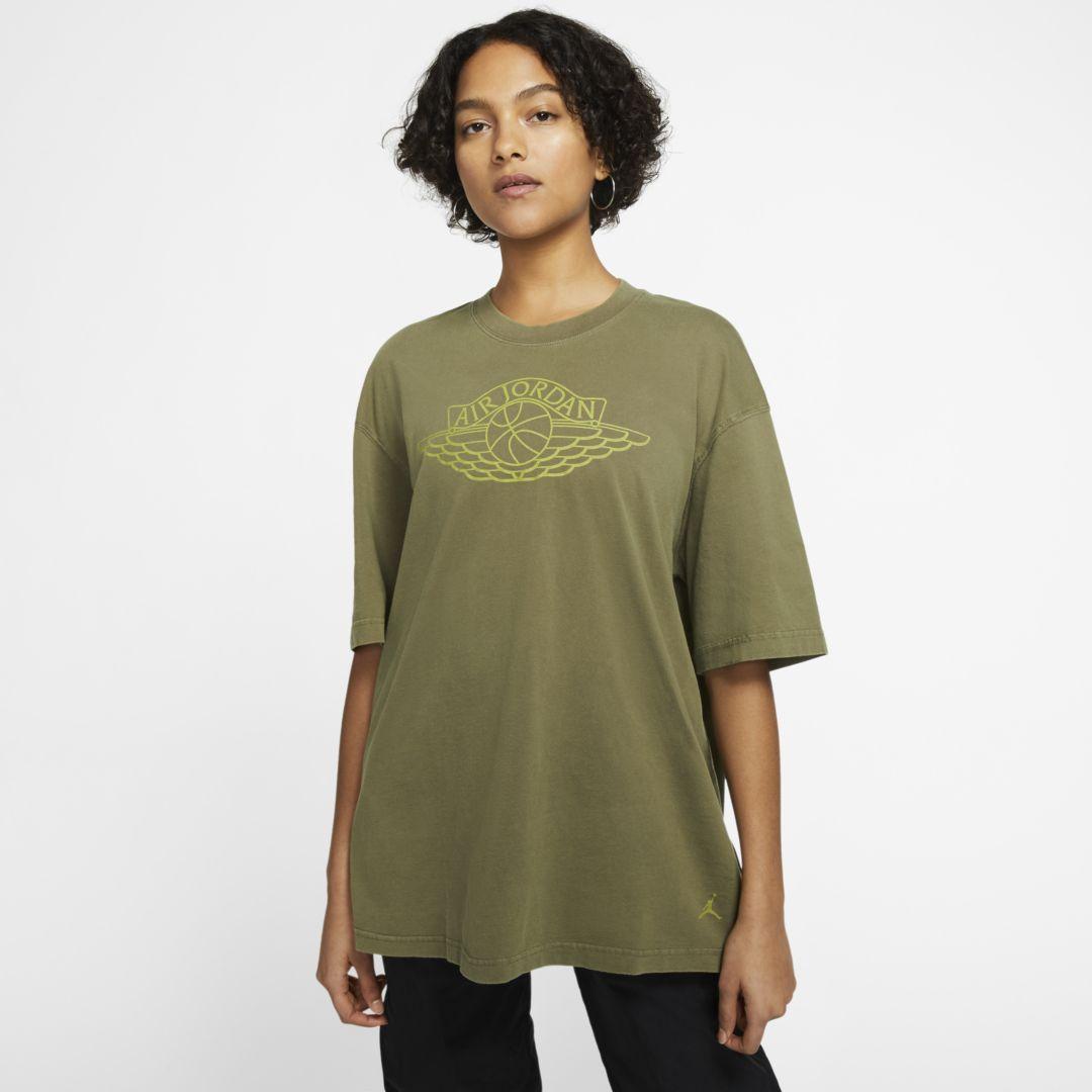 Photo of Jordan Women's T-Shirt (Medium Olive)