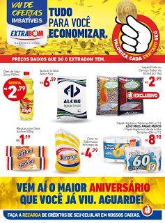 Encartes de Supermercados: Encarte Extrabom - válido até 16/09