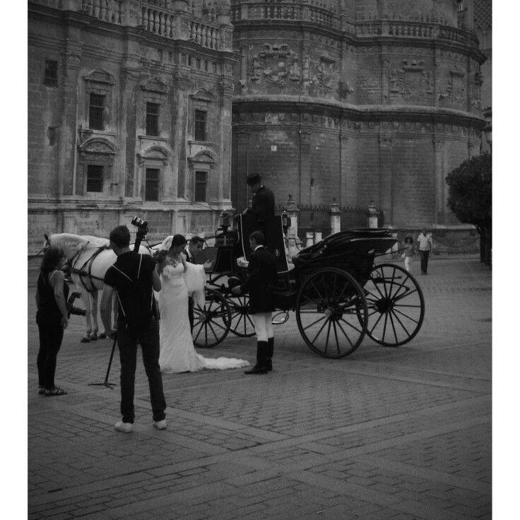Novia en Sevilla