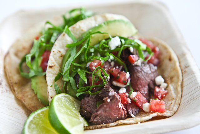 Meaty Skirt Steak Tacos Recipe