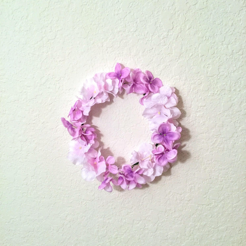 Faux Floral Purple Fairytale Flower Crown For Sale At Etsy