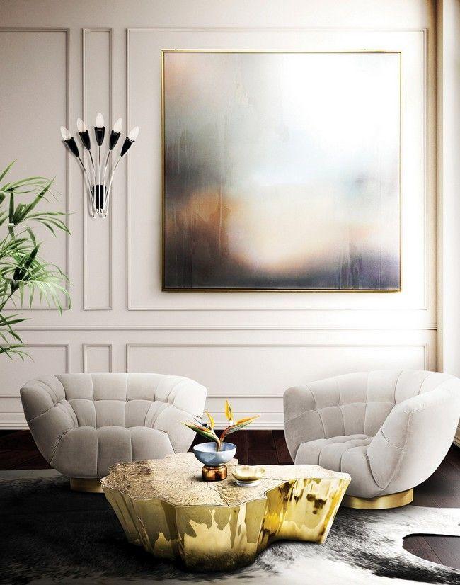Las piezas de diseño de muebles más modernas deben tener el material