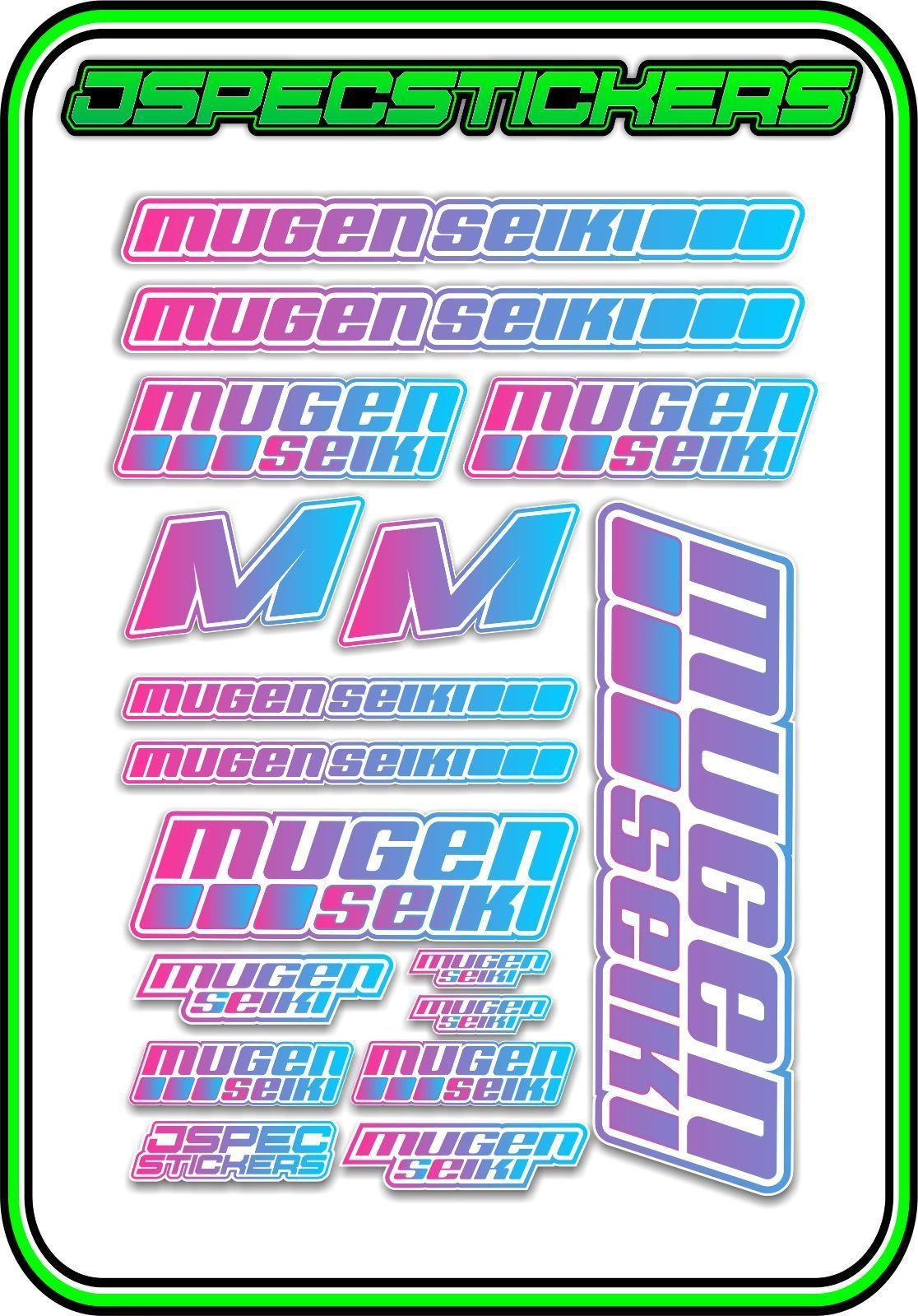5 44 Aud Mugen Seiki Rc Sticker Sheet 1 8 Buggy 1 10 Car Mtx6r Mbx7r Mrx6 Gt Eco Pink Blu Ebay Collectibles Sticker Sheets Buggy Ebay [ 1599 x 1116 Pixel ]