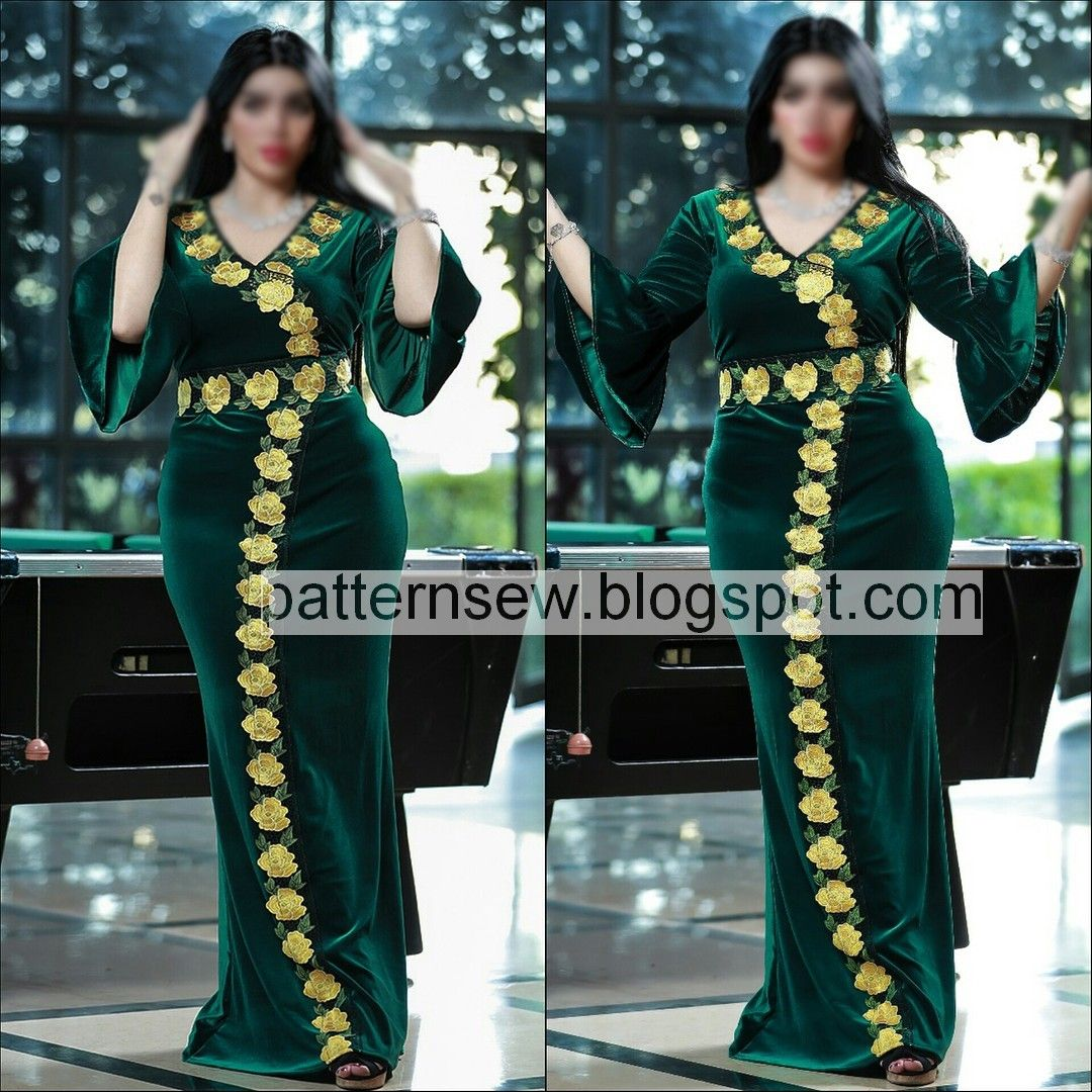 Jolie Clothing Aftan Dress Traditional Clothes