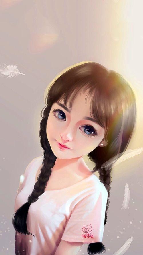 Art Girl uploaded by ChiangWaiFun on We Heart It