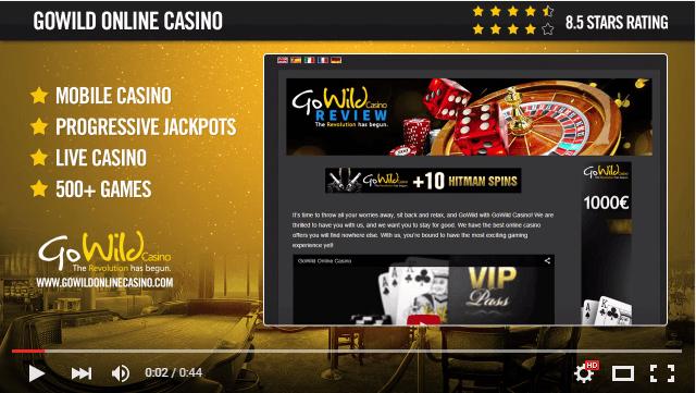 Go Wild Casino Live Support