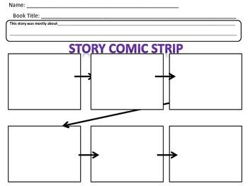 Template For SequencingCreating A Comic Strip To Retell A Story