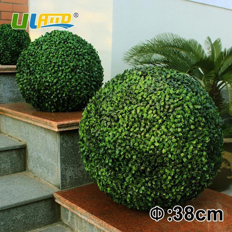 Attirant 38Cm Decorative Artificial Boxwood Balls Fake Plants Topiary Balls For  Garden Decoration U0026 Ornaments