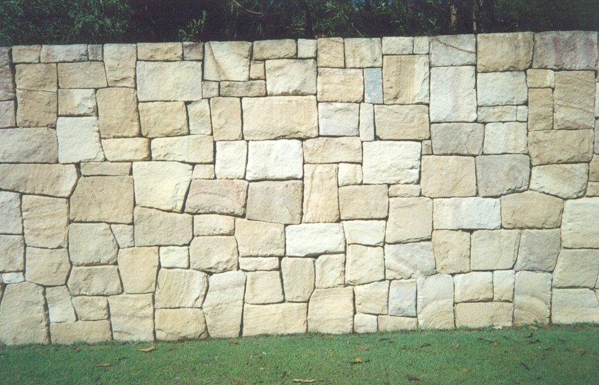 Sandstone Wall Sandstone Wall Stone Wall Cladding Landscaping Retaining Walls