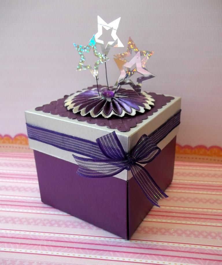 Invitación tipo cajita magic box para 15 años personalizada ...
