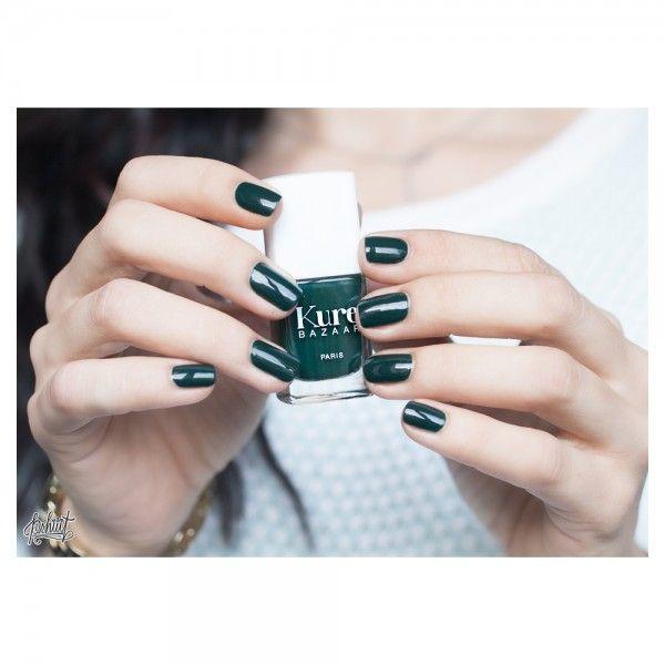 Kale: Kure Bazaar A nice blue-green | hair | Pinterest | Kale, Nail ...