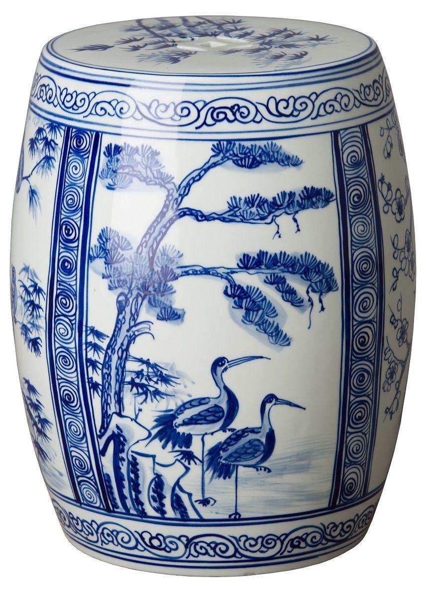 Blue And White Blue And White Stool Blue White Stool Blue And White Stools Blue White Stools Ht White Garden Stools White Ceramic Stool Ceramic Stool