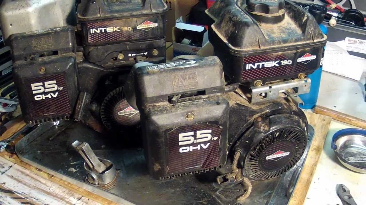 Briggs And Stratton Intek Engines Model Number Locations Lawn Mower Repair Engineering Briggs Stratton