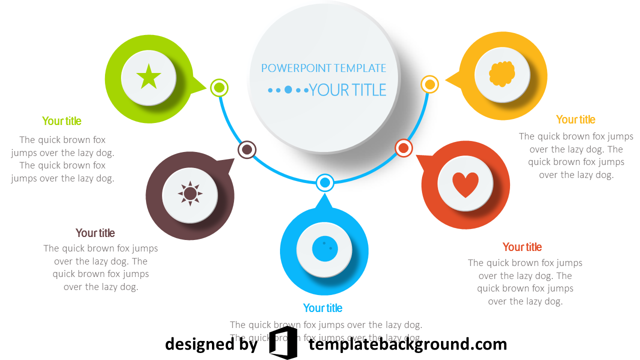 resume animated powerpoint template