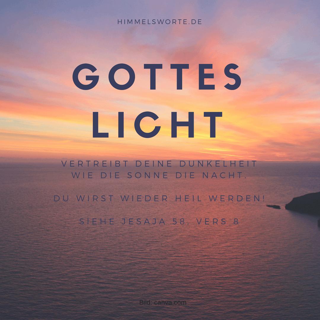 Bibelsprüche Licht