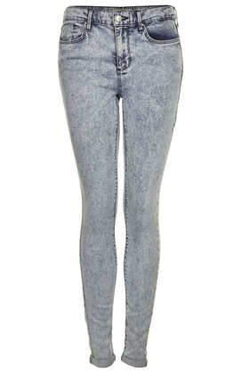 61ed12d1e93ed TopShop MOTO Bleach Acid Leigh Jeans - contemplating getting these. I  already have and love the gray coated ones. Hmmm..