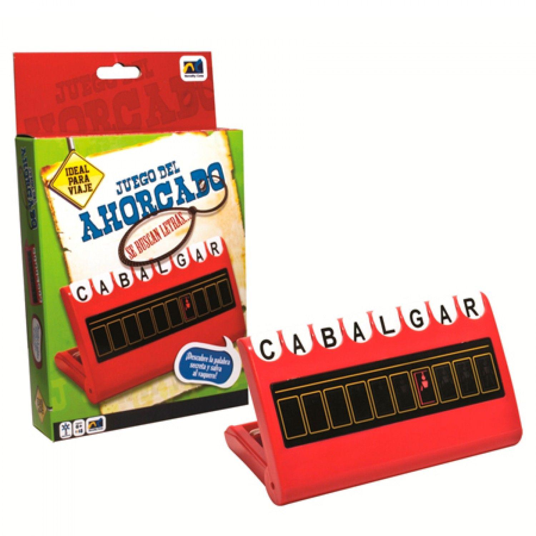 Ahorcado, Edades de 6+ Contiene tablero con 72 letras para formar palabras.  Búscalo en: http://ow.ly/rPiIA