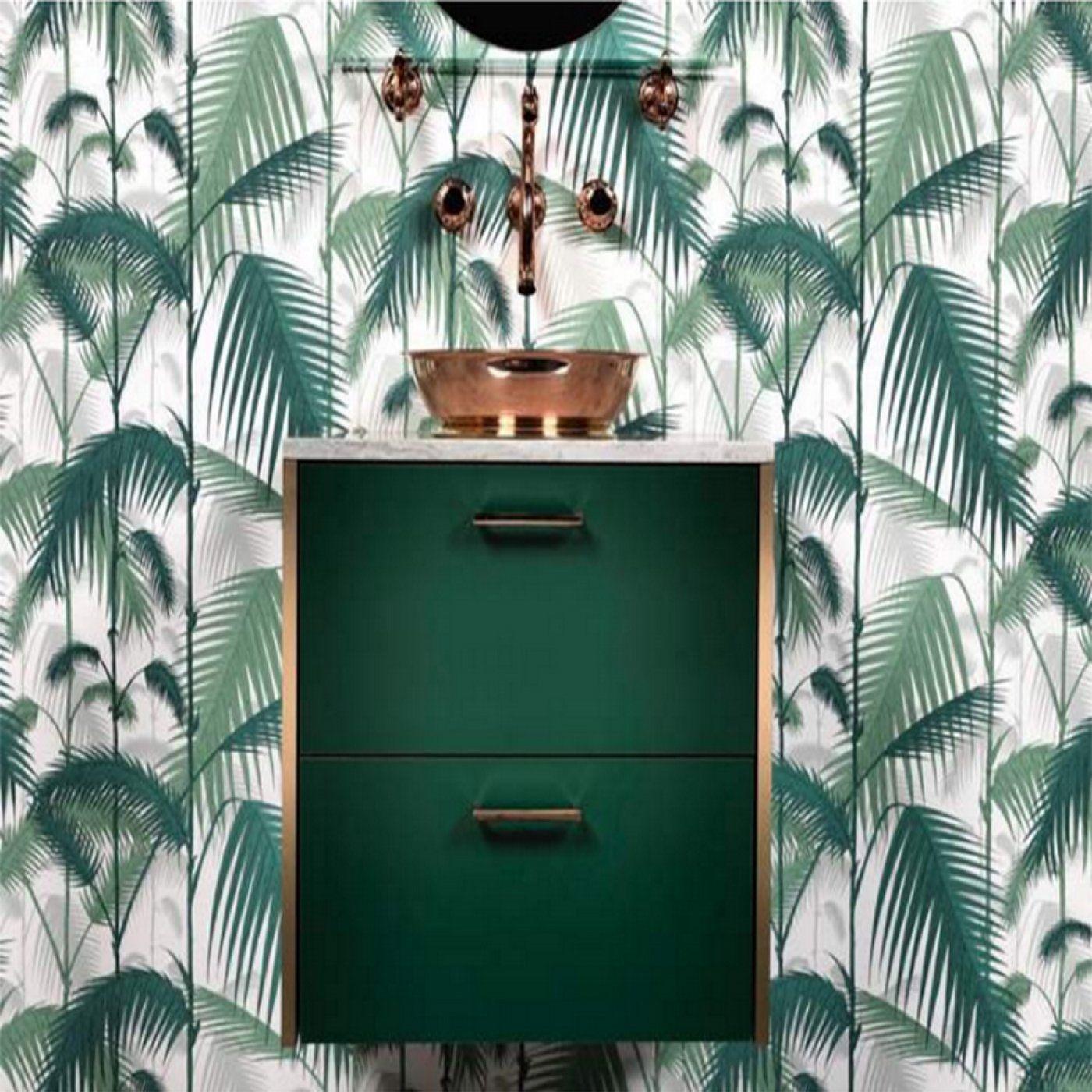 Ikea Le Papier choisir un papier peint de salle de bains tous nos conseils